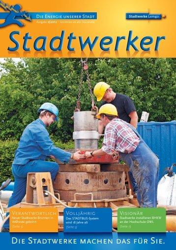 Stadtwerker 2/2012 - Stadtwerke Lemgo