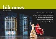 bik news - Büro für Internationale Kulturprojekte