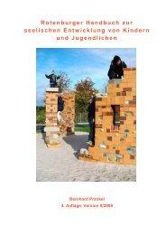 Rotenburger Handbuch zur seelischen Entwicklung von Kindern ...