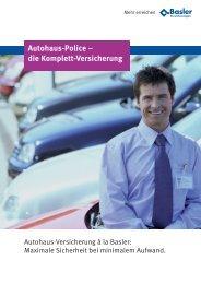Autohaus-Police – die Komplett-Versicherung - Stadtausstellung.at