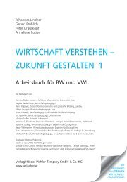 WIRTSCHAFT VERSTEHEN – ZUKUNFT GESTALTEN 1 - ifte