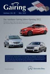 Das Autohaus Gairing Jahres-Opening 2012. - Gairing GmbH & Co ...
