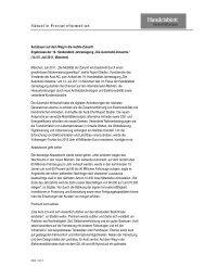 Pressebericht - Verlagsgruppe Handelsblatt