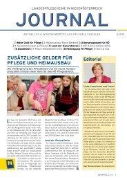 NÖ Journal 1/2012 PDF, 1.014 kb - NÖ Landesheime