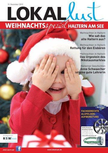 WEIHNACHTS HALTERN AM SEE - Lokallust