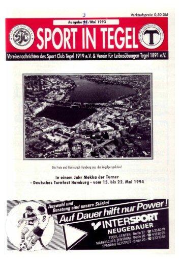 Ausgabe 3/1993 - VfL-Tegel 1891 e.V.