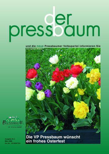 Ausgsteckt is' 2006 Buschenschank Bogner - Volkspartei Pressbaum