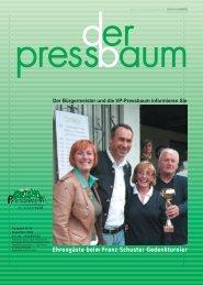 immobilien - Volkspartei Pressbaum