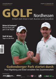 GOLFszene - Golf Nordhessen