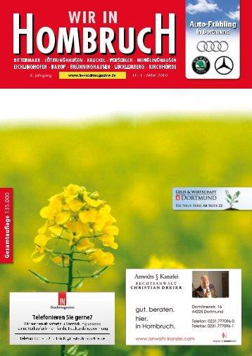 Kulturhauptstadt 2010!? - Dortmunder & Schwerter Stadtmagazine