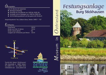 Festungsanlage Burg Stickhausen M - Detern