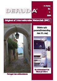 DERUD A´ Udgivet af Internationaler Motorclub (IMC)