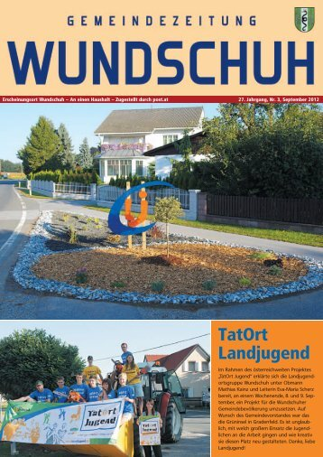 September 2012 (8,73 MB) - .PDF - Wundschuh