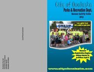2012 Park & Recreation Summer Activity Guide - Great River Landing