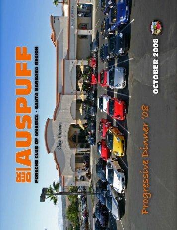 Oct 2008 - Pcasb.org - Porsche Club of America