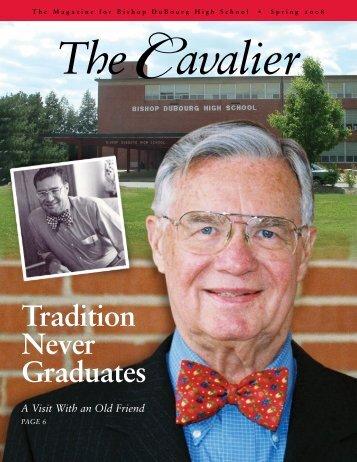 Tradition Never Graduates - Bishop DuBourg