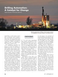 Drilling Automation: A Catalyst for Change - Society of Petroleum ...