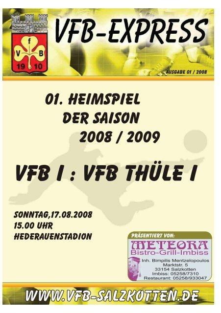 Heft_01_2008 - VfB Salzkotten