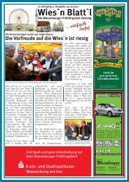 . . . einfach In(n) Weinberger - beim WFV-Wasserburg