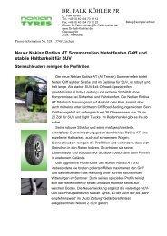 Nr. 1 - Nokian Tyres