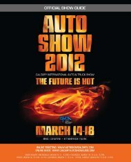 Auto Show Magazine - Calgary Herald