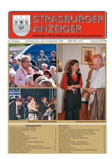 18. Jahrgang Strasburg (Um.), den 19. September ... - Stadt Strasburg