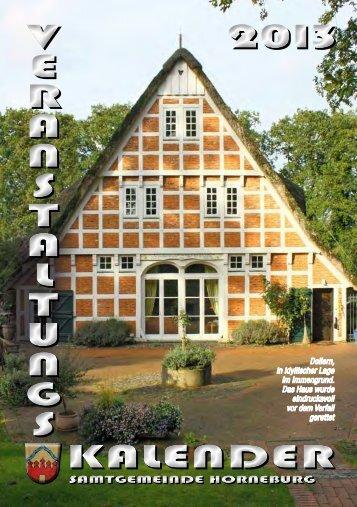 Veranstaltungskalender - Samtgemeinde Horneburg
