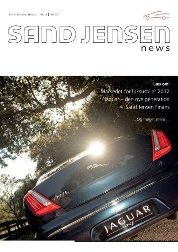 Markedet for luksusbiler 2012 Jaguar – den nye generation Sand ...