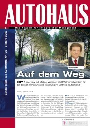 Sonder dr uck aus AUTOHAUS Nr. 05 - T-Systems International ...