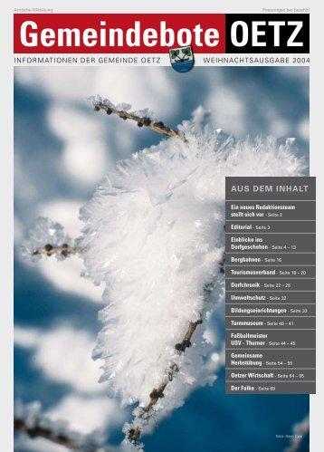(6,04 MB) - .PDF - Gemeinde Oetz - Land Tirol