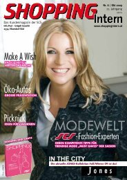 Ausgabe 6/2009 - Shopping-Intern