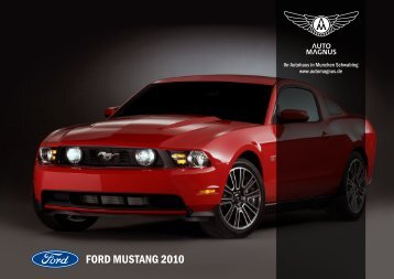 2010 Ford Mustang - Auto Magnus