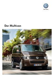 Der Multivan - Autohaus Elmshorn