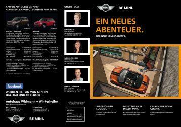 BE MINI. - Widmann + Winterholler