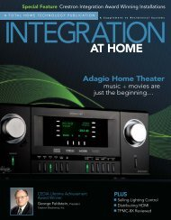Crestron Award Winners