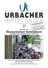 Rund ums Fahrzeug - Gemeinde Urbach