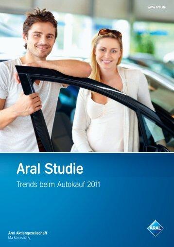 """Aral Studie """"Trends beim Autokauf 2011"""""""