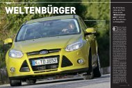 TEST FORD FOCUS 2.0 TDCi
