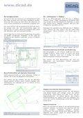 STRAKON 2010 neue Funktionen - DICAD Systeme GmbH - Page 2