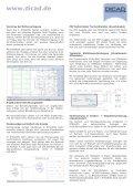 STRAKON 2010 neue Funktionen - DICAD Systeme GmbH - Page 6