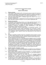 1 / 3 oldal A svájci TE Connectivity Solutions GmbH (TE) Általános ...