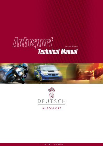 Autosport Technical Manual - Deutsch