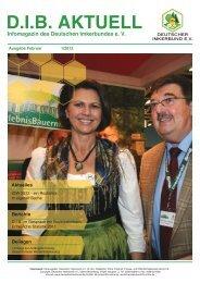 D.I.B. Aktuell 1/2012 - Deutscher Imkerbund e.V.