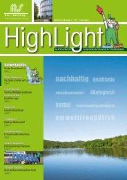 HighLight - Nummer 28 - 02/2011 - Deutsche R+S Dienstleistungen