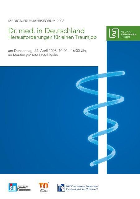 Dr. med. in Deutschland - Gesellschaft Deutscher Krankenhaustag ...