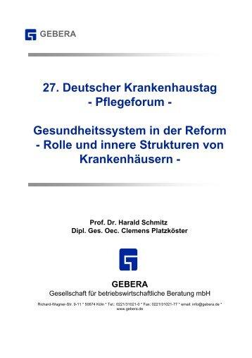gebera - Gesellschaft Deutscher Krankenhaustag mbH