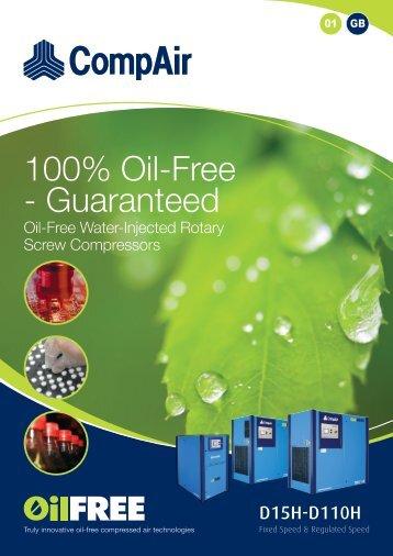 100% Oil-Free - Guaranteed - Granzow