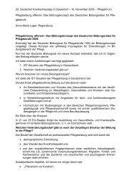 29. Deutscher Krankenhaustag in Düsseldorf - Gesellschaft  ...