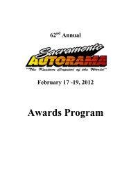 Awards Program - RodShows.com