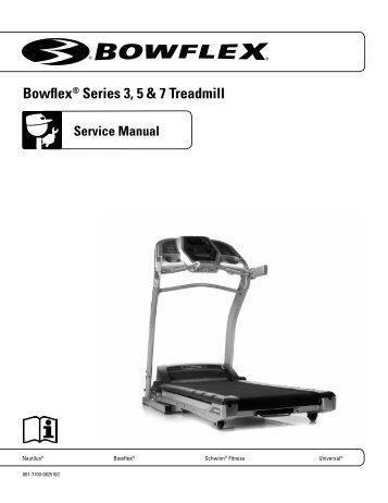 BowflexR Series 3 5 7 Treadmill